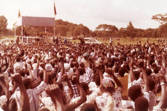 ZANU-PF rally in Harare