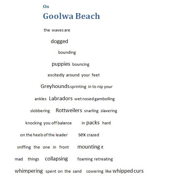 On Goolwa Beach