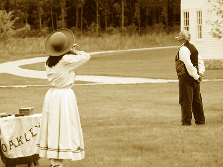 Poem a Day 2014 - Annie Oakley and the Kaiser