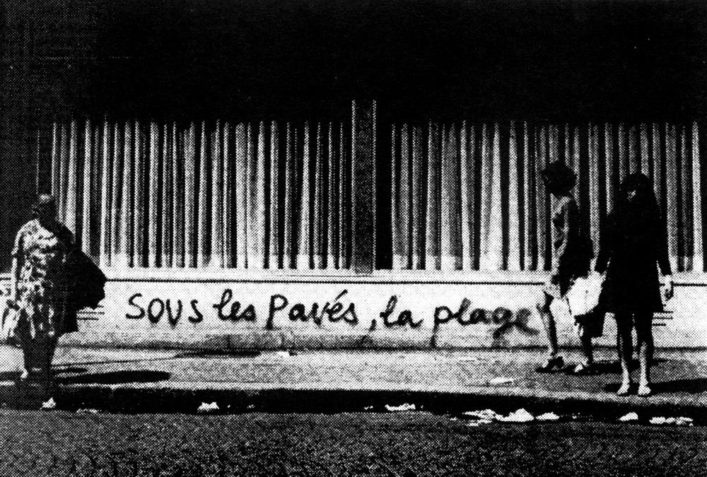 Poem a Day #13 - Sous Les Pavés, La Plage
