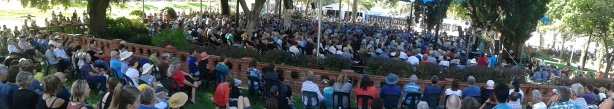 The West Stage at Adelaide Writers' Week - Helen Garner's Talk